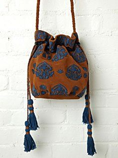 Embroidered Crossbody