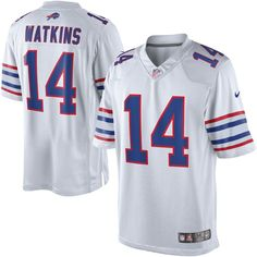 Sammy Watkins Nike Buffalo Bills Limited Jersey - White e9dc8ce8e