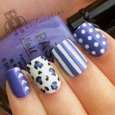 purple nail art designs for short nails Nail Art Designs for Short Nails Easy nail jenner nail wedding nail nail nail nail Simple Nail Art Designs, Short Nail Designs, Cute Nail Designs, Easy Nail Art, Easy Art, Fancy Nails, Cute Nails, Pretty Nails, Fabulous Nails