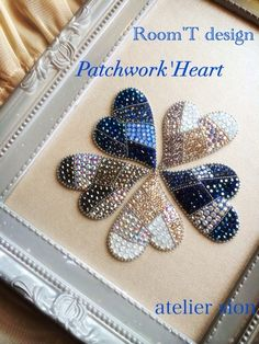 Discover recipes, home ideas, style inspiration and other ideas to try. Bead Embroidery Patterns, Bead Embroidery Jewelry, Beaded Embroidery, Beaded Jewelry, Brooches Handmade, Handmade Jewelry, Art Perle, Bead Sewing, Native Beadwork
