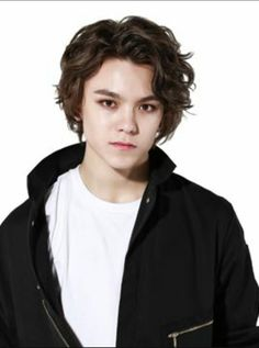 Vernon ||Seventeen||  Hansol with long hair is THE aesthetic ❤❤