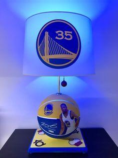 Kevin Durant Lamp Golden State Warriors Basketball Lamp NBA Sports Light KD