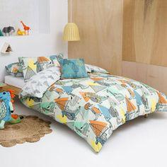 Kas Kids Dinosaur Quilt Cover Set Range | Kids | Pinterest | Kids ... : kas kids quilt covers - Adamdwight.com