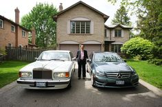 Albert Lai Rolls Royce Silver Spur III + Mercedes Benz C350 4Matic AMG Trim Rolls Royce Silver Spur, Mercedes Benz