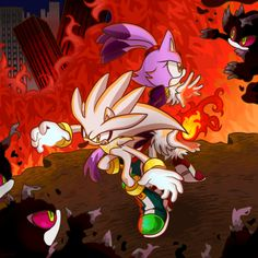 Silver, Blaze and Mephiles