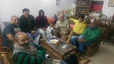 From Left to Right  Halwai, Mamaji ka NRI beta, Mamaji, Bahuraani, Father-in-law, Tharki devar, Always angry Foofaji