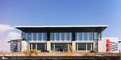 Centro de Usos Múltiples. México Fachada traslúcida. Arquitectura traslúcida Danpalon arquitectura de luz, láminas, plásticos, policarbonato, revestimientos revestimientos plásticos