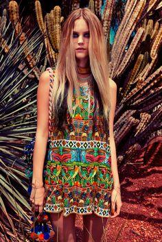 Crazy colour. Camilla S/S '13 / '14 Pachamama Campaign.