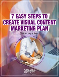 To help you get started, let me share to you the step-by-step process I used to create an effective visual content marketing plan. Let's get started… Marketing Plan, Content Marketing, Online Marketing, Earn Money From Home, Make Money Online, How To Make Money, Get Started, Blogging, About Me Blog