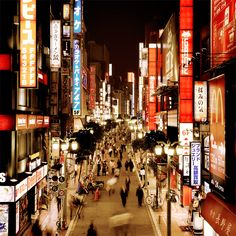 Japan is a beautiful mix of city lights and beautiful landscapes. How could you not want to go here?