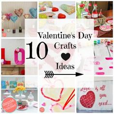 10 cute and lovely DIY Valentine's Day crafts and ideas | DazzleWhileFrazzled.com