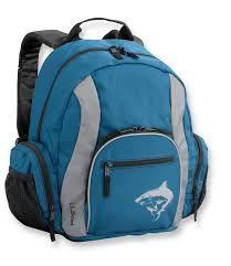 LLBean Shark Critter Backpack