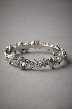 Magnetism Bracelet. It's working. I'm drawn to it like a magnet!