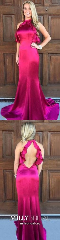 Red Formal Dresses Long, Mermaid Prom Dresses For Teens, Simple Graduation Dresses High Neck, Sexy Military Ball Dresses Open Back Modest Formal Dresses, Open Back Prom Dresses, Simple Prom Dress, Formal Dresses For Teens, Backless Prom Dresses, Mermaid Prom Dresses, Cheap Prom Dresses, Formal Evening Dresses, Party Dresses