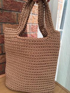 Handbag/ Knitted Bag/ Rope Bag/ Handmade Bag/ Crochet by MadeByGJ