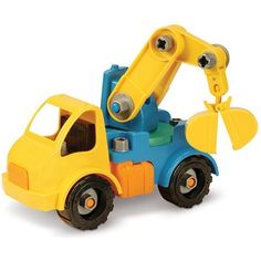 Battat Take-A-Part Crane is a delightful construction toy for your kids to play with . Be sure they are 3 and over. #battat