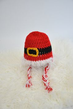 Santa Suit Hat by JLloPhotographyProps on Etsy, $20.00