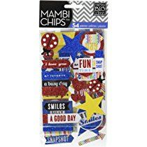 Me & My Big Ideas Chipboard Value Pack-Happy Day