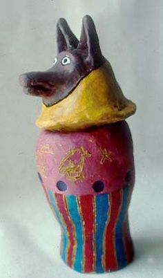 Canopic jar...