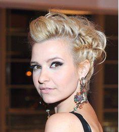 fryzura na wieczorne wyjście #JoannaKoroniewska