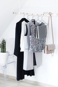 birkenstamm an der wand mit hngenden bildern wohnideen und dekozeug pinterest decoration interiors and room - Fantastisch Diy Garderobe
