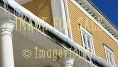 for sale icicles and house in finland