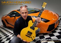 Simon Hosford with his Maton