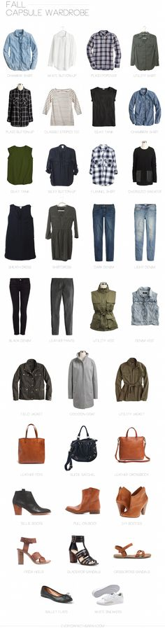 My (First) Fall Capsule Wardrobe | Everyday with Sarah