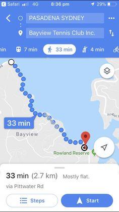 Tennis Clubs, Safari, Map, Maps