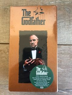 The Godfather Anniversary VHS New Factory Sealed Francis Ford Coppola The Godfather Part Iii, Godfather Movie, The Best Films, Great Movies, Talia Shire, Close Caption, The Devil's Advocate, Robert Duvall, Francis Ford Coppola