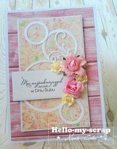 Hello-my-scrap: Róż, kwiaty, deski