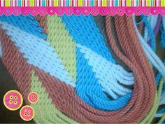 Fajon o gasa tipo Wayuu 32 cordones