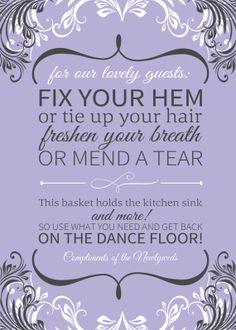 Bathroom Basket Sign Print Listing by TheFunkyOlive on Etsy
