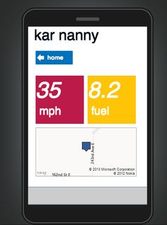 kar nanny: GM's new app platform keeps track of family members and their driving history.