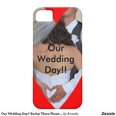 Our Wedding Day!! Barley There Phone Case