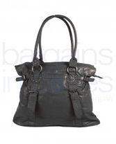 Ladies Large Black Handbag/Shoulder Bag