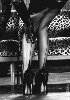 heels.........making women feel sexy long before men ever did ; }~