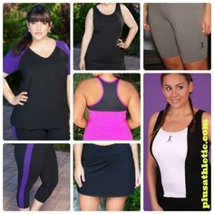 New Women's Plus Size Workout Wear Styles from AlwaysForMe.com