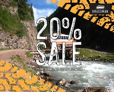 Our 20% sale kicks off today (18th April) and runs through until the 3rd May 2016. Offer applies to selected tours and departures before the 1st July 2017.  See the website for more details. www.dragoman.com  #dragoman #travel #sale #discount #wanderlust #adventure #overland