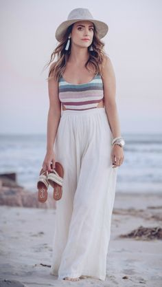 ready for summer in this Mara Hoffman Jumpsuit, TheStyledFox.com