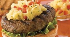 Caribbean Turkey Burgers with Tropical Salsa: Get a feel of the islands while enjoying grilled turkey burgers topped with a fiery pineapple salsa.