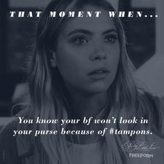 Shoutout to all the boyfriends out there that don't check their girlfriend's purses.  #PLLEndGame #PrettyLittleLiars
