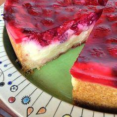Greenway36: Pudding-Schmand-Kuchen mit Himbeeren