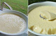 Lahodný pěnový krém: Skvělý do dezertů a vrstvených koláčů, ale i do skleněných pohárů jako pochoutka!