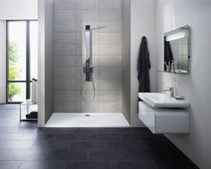 Ideen Für Kleines Badezimmer U2013 Architecture Trends, Wohnideen, Wohnen  Kleines Bad Große Fliesen | New Home Decorations