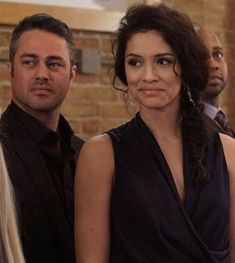 Chicago Fire Brett, Chicago Med, Taylor Kinney Chicago Fire, Marina Squerciati, Chicago Shows, Best Tv Shows, Actors, Couples, Movies