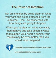 The Power of Intention #lawofattraction #successwithkurt #kurttasche