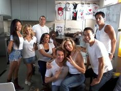 Power Rangers for NOH8...I spy Steve Cardenas :)
