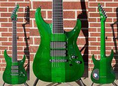 ESP standard custom 7 string guitar, based off Stephen Carpenter model