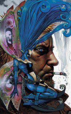 Simon Bisley, Art And Illustration, Illustrations, Comic Book Artists, Comic Artist, Comic Books Art, Fantasy Paintings, Fantasy Artwork, Heavy Metal